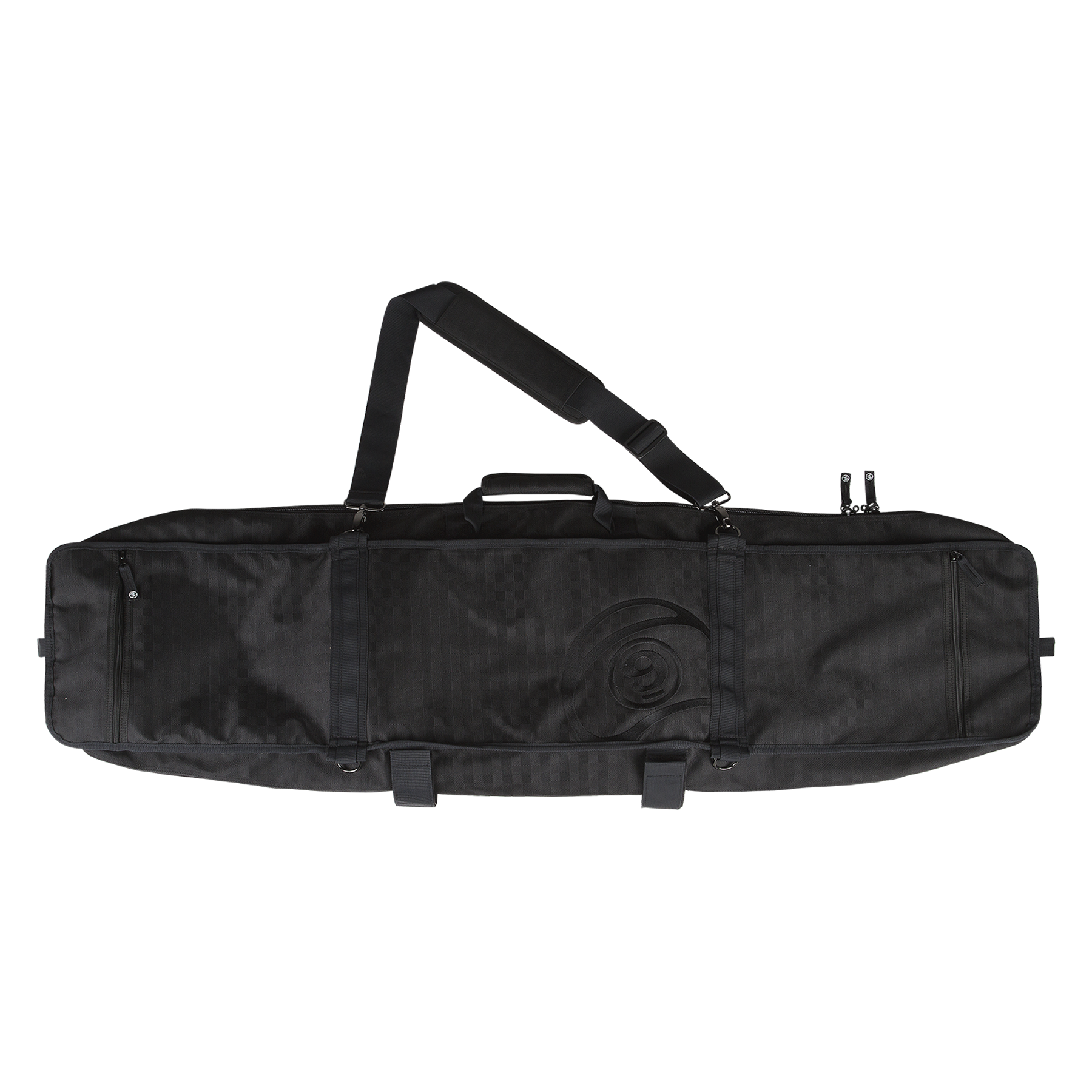 SECTOR9 FIELD TRAVEL BAG BLACK